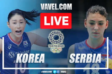 Highlights and Best Moments: Korea 0-3 Serbia in Tokyo 2020