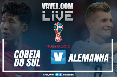Resultado Coreia do Sul x Alemanha na Copa do Mundo 2018 (2-0)