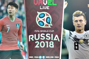 Corea del Sud - Germania terminata (2-0): Kim+Son, Germania eliminata!