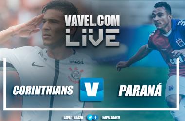 Resultado Corinthians x Paraná pelo Campeonato Brasileiro 2018 (1-0)