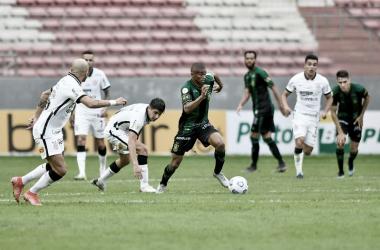 Gols e melhores momentos de Corinthians x América-MG pelo Campeonato Brasileiro 2021 (1-1)