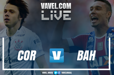 Resultado Corinthians x Bahia pelo Campeonato Brasileiro (2-1)