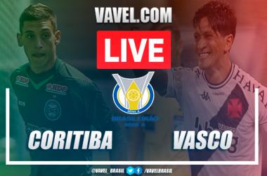 Gols e melhores momentos Coritiba x Vasco pelo Campeonato Brasileiro (1-0)