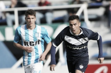 Jorge Correa fue titular. Foto: Vélez Sarsfield Página Oficial.