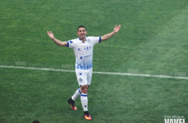Javier Correa, autor del gol del empate. Foto: Santiago Tagua   Vavel.com