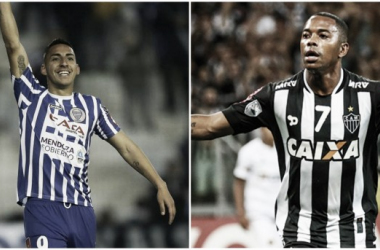 Javier Correa vs Robinho   Fotomontaje