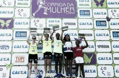 Rejane Silva vence Corrida da Mulher Caixa 2015