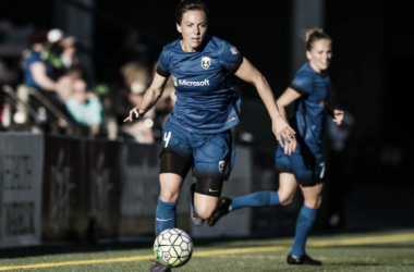 Rachel Corsie with the Seattle Reign | Photo: ISI Photo