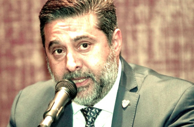 Daniel Angelici, en una conferencia de prensa. Foto: El Patagónico