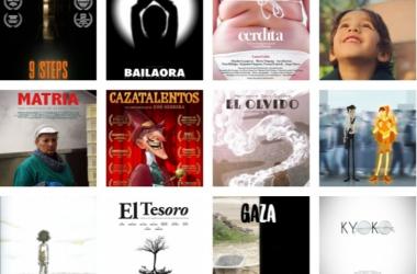 Pósters oficiales de cada uno de los nominados. Fotomontaje de Rafael Fernández