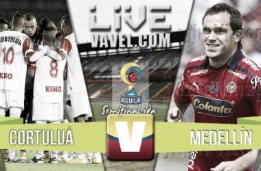 Resultados Cortuluá 1-2 Independiente Medellín en ida semifinal Liga Águila 2016