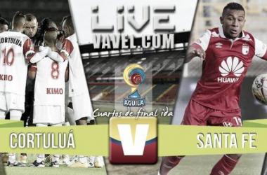 Resultado Final: Cortuluá - Santa Fe (2 - 1)