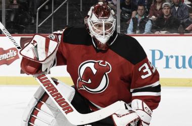 Cory Schneider con los New Jersey Devils | Foto: NHL.com