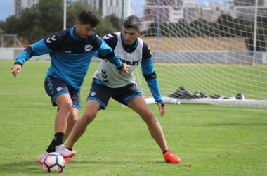 El Deportivo Alavés se entrenará el jueves en doble sesión | Fotografía: Deportivo Alavés