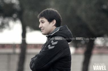 Ángel García Cosín lamentó la derrota frente al Castilla | Foto VAVEL: Rocío Hellín