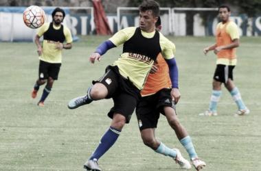 Gabriel Costa debutó como jugador de Cristal ante Montevideo Wanderers. Foto: libero.pe