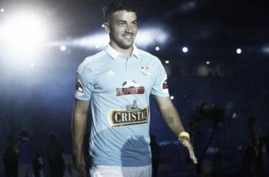 Costa llegó a Cristal después de dos años en Alianza Lima. Foto: Twitter, @Eduardo_Combe