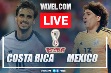 Goal and Highlights Costa Rica 0-1 Mexico in 2022 World Cup Qualifiers