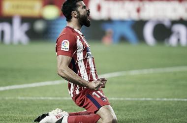 Diego Costa ya es centenario/ Fuente: Atlético de Madrid