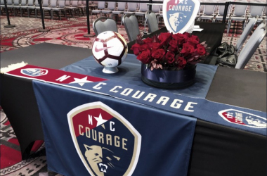 The Courage had five selections throughout the 2018 NWSL College Draft. | @TheNCCourage