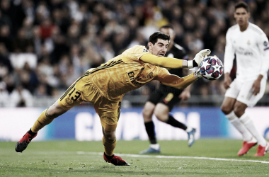 Courtois en el conjunto blanco | Foto: Real Madrid CF