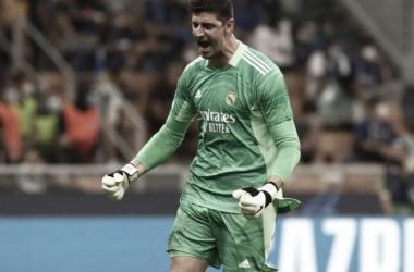 Con mucho trabajo, Courtois mantuvo su valla en cero | Foto: UEFA