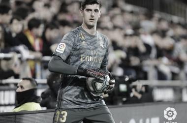 Thibaut Courtois, la primera pieza de la columna vertebral del Real Madrid