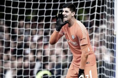 Thibaut Courtois pide a los aficionados que apoyen al equipo   Foto: Chelsea
