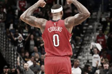 DeMarcus Cousins se llevará sus habilidades a la bahía. | Foto: NBA.com/pelicans