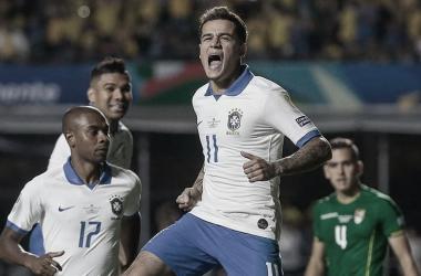 Coutinho fue el héroe de la noche | Foto: Conmebol