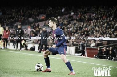 """Coutinho celebra primeiro gol pelo Barcelona: """"Foi um momento especial para mim"""""""
