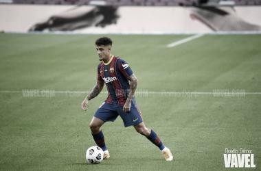 Coutinho, jugador del Barcelona | Foto: Noelia Déniz - VAVEL
