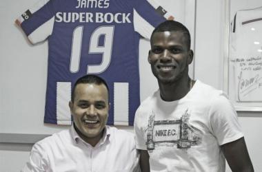 El delantero panameño llega procedente de Árabe Unido donde se consagró campeón en 2016. | Foto: Envigado FC
