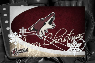 Arizona Coyotes Christmas wishes to all! (Photo: Howlinhockey.com)