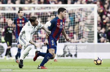 Barcelona e Real Madrid na luta pelo titulo