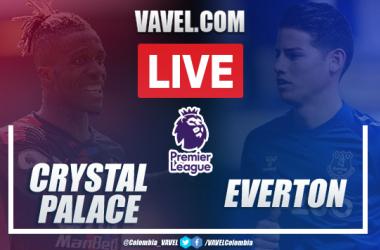 Resumen, Crystal Palace Everton (1-2): partido aceptable de James