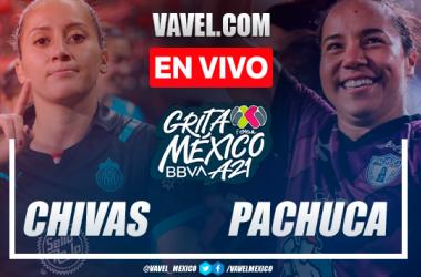 Resumen y goles: Chivas 2-1 Pachuca en Liga MX Femenil Apertura 2021