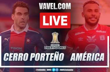 Resumen Cerro Porteño vs América (1-0) en la fecha 6 del grupo H por Copa Libertadores 2021