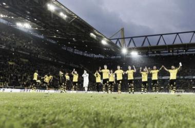 La fiebre borusser no entiende de aspirinas. || Foto: Borussia Dortmund.