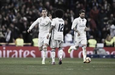 Cristiano Ronaldo, due gol contro il Las Palmas. Fonte: LaLiga.es