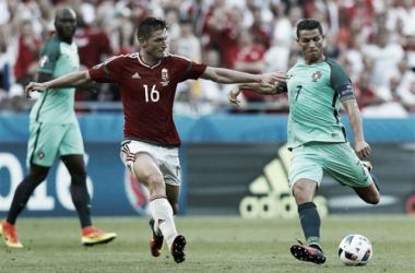Portugal e Hungria empataram a três no Euro 2016