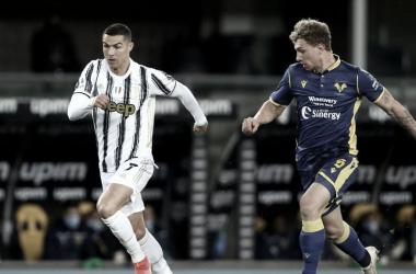 Hellas Verona 1 a 1 Juventus (Foto: Serie A / Divulgação)