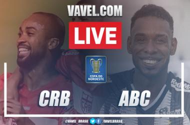 Gols e melhores momentos de CRB 2 x 0 ABC pela Copa do Nordeste 2021