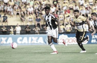 Tigre não vence o Figueira em casa desde 2014 (Foto: Caio Marcelo/Criciúma EC)