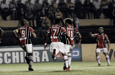Única vitória fora do Coelho na Série B havia sido contra o Avaí, em junho (Foto: Divulgação/Joinville EC)