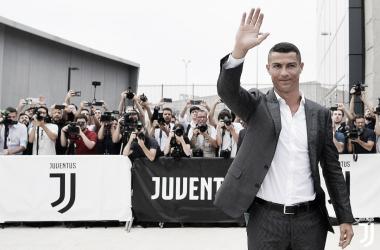 Apresentação de Cristiano Ronaldo na Juventus