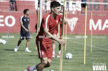 """Cristian Salvador: """"Trabajaré duro para tener más oportunidades"""""""
