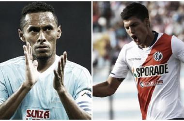 (Lobatón y Bulos son las estrellas máximas de las respectivas escuadras (FOTOMONTAJE: Luis Burranca - VAVEL)