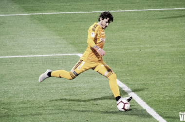 Cristian Álvarez ha sido el protagonista en la sala de prensa de la Ciudad Deportiva / Foto: Andrea Royo (VAVEL)