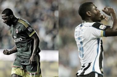 Los Zapata festejaron en el Udinese–Milán
